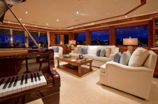 Yacht AMARULA SUN -   Main Salon and Piano